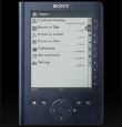 Sony Reader, blue navy