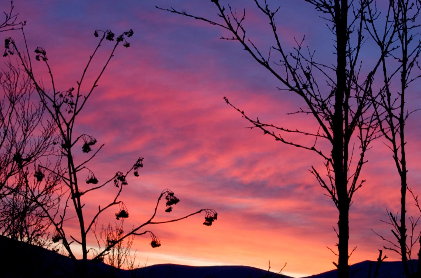Tromso Sky moning 23thDec